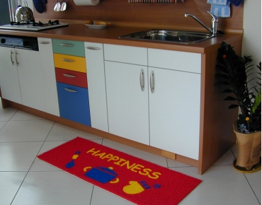 Custom kitchen mat